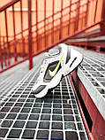 Мужские кроссовки в стиле Nike Air Monarch (white/green), Найк Аир Монарх (Реплика ААА), фото 9