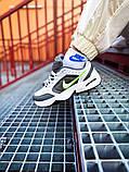 Мужские кроссовки в стиле Nike Air Monarch (white/green), Найк Аир Монарх (Реплика ААА), фото 3