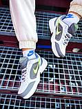Мужские кроссовки в стиле Nike Air Monarch (white/green), Найк Аир Монарх (Реплика ААА), фото 2