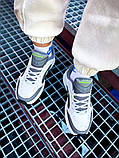 Мужские кроссовки в стиле Nike Air Monarch (white/green), Найк Аир Монарх (Реплика ААА), фото 5