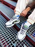 Мужские кроссовки в стиле Nike Air Monarch (white/green), Найк Аир Монарх (Реплика ААА), фото 6