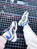 Мужские кроссовки в стиле Nike Air Monarch (white/green), Найк Аир Монарх (Реплика ААА), фото 8
