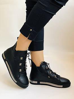 Осенние, высокого качества женские осенние ботинки .Натуральная кожа.Турция.Alvito. 36-40 Vellena