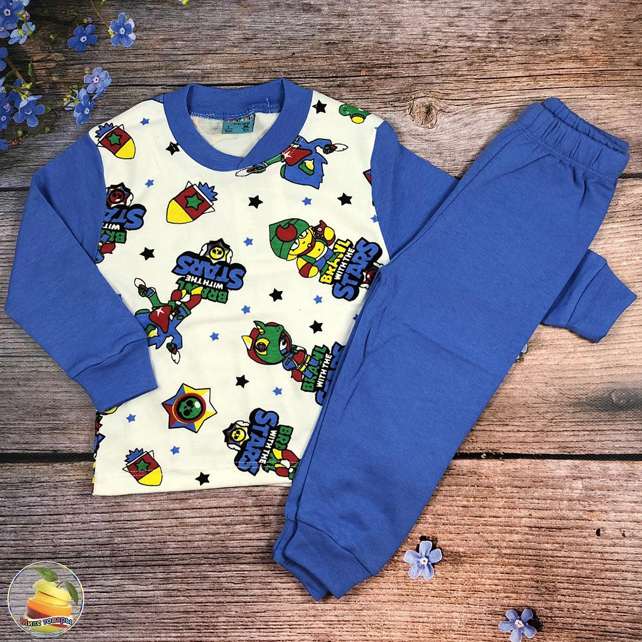 """Пижама """"Brawl Stars"""" для малыша Рост: 86,92,98,104 см (20794)"""