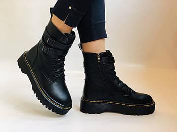 Женские ботинки Dr. Martens. Натуральная кожа.Высокое качество.  Р. 37-40.Vellena