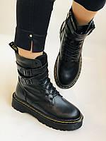 Женские ботинки Dr. Martens. Натуральная кожа.Высокое качество.  Р. 37-40.Vellena, фото 3