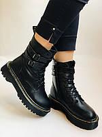 Женские ботинки Dr. Martens. Натуральная кожа.Высокое качество.  Р. 37-40.Vellena, фото 2
