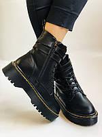 Женские ботинки Dr. Martens. Натуральная кожа.Высокое качество.  Р. 37-40.Vellena, фото 9