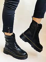 Женские ботинки Dr. Martens. Натуральная кожа.Высокое качество.  Р. 37-40.Vellena, фото 8
