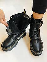 Женские ботинки Dr. Martens. Натуральная кожа.Высокое качество.  Р. 37-40.Vellena, фото 6