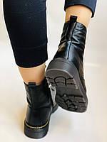 Dr.Martens. Зимние ботинки натуральная кожа. Высокое качество. Размер 36 37 38 39 40, фото 7