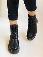 Dr.Martens. Зимние ботинки натуральная кожа. Высокое качество. Размер 36 37 38 39 40, фото 3