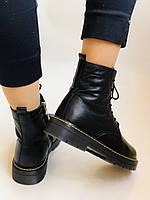 Dr.Martens. Зимние ботинки натуральная кожа. Высокое качество. Размер 36 37 38 39 40, фото 10