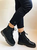 Dr.Martens. Зимние ботинки натуральная кожа. Высокое качество. Размер 36 37 38 39 40, фото 2