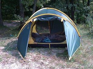 Трехместная палатка Tramp SPACE 3 (v2) TRT-059, фото 2