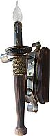 Факел бра одинарный кованный на 1 рожок 670721