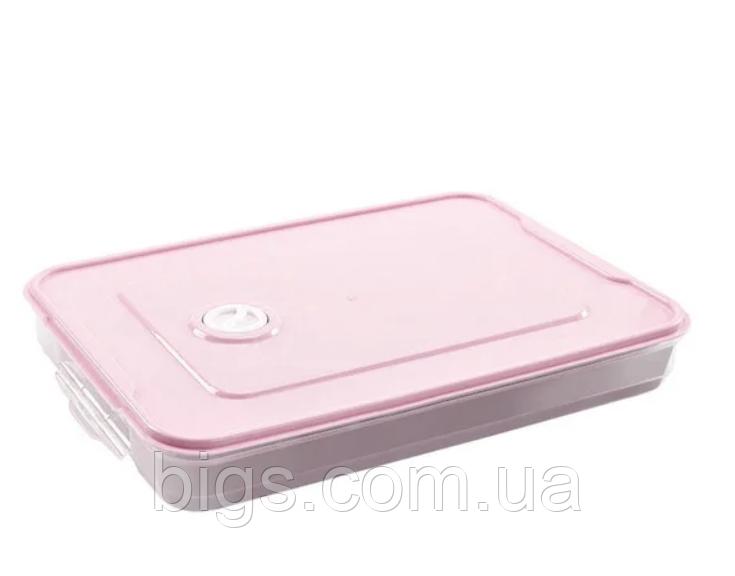 Контейнер пищевой для морозильной камеры с таймером 2,9 л (29,5x22,5x4,5 см)