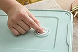 Контейнер пищевой для морозильной камеры с таймером 2,9 л (29,5x22,5x4,5 см), фото 7