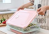 Контейнер пищевой для морозильной камеры с таймером 2,9 л (29,5x22,5x4,5 см), фото 5