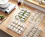 Контейнер пищевой для морозильной камеры с таймером 2,9 л (29,5x22,5x4,5 см), фото 9