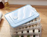Контейнер пищевой для морозильной камеры с таймером 2,9 л (29,5x22,5x4,5 см), фото 10
