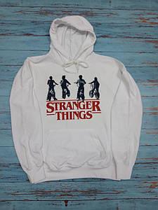 Худи Stranger Things толстовка белая