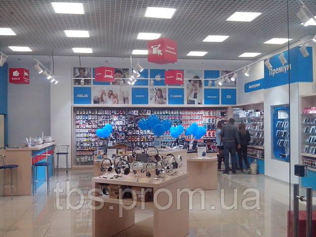 Монтаж кассетных потолков - GROUP-TB.COM.UA в Киеве