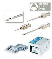Иглы инъекционные многоразовые 18G 1,2*25мм (Luer-Lock) HSW-ECO, уп/12шт HENKE (Германия)