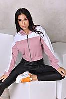 """Кофта жіноча на блискавці з капюшоном розміри 42-48 ( 3ол) """"INGHIR"""" купити недорого від прямого постачальника"""