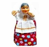 Кукла-рукавичка БАБКА (пластизоль, ткань), B071