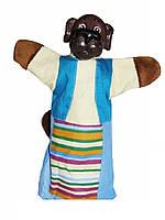 Кукла-рукавичка СОБАЧКА (пластизоль, ткань), B083
