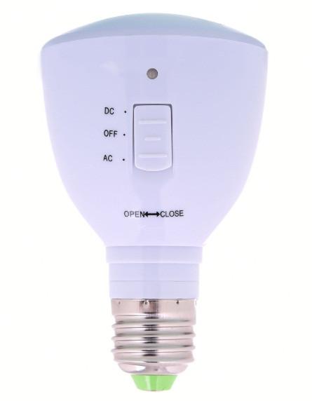 Светодиодная лампа с аккумулятором Е27 4W