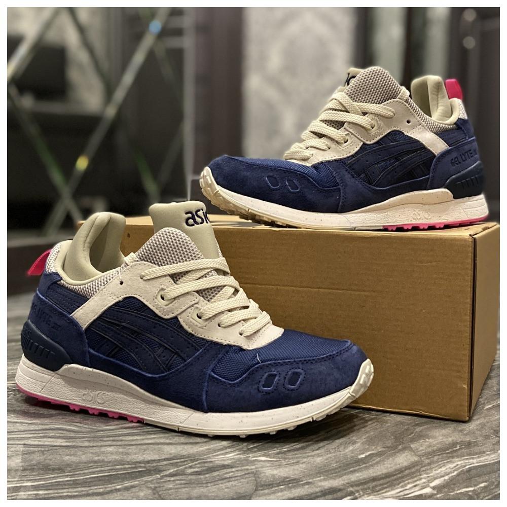 Мужские кроссовки Asics Gel Lyte 3 Blue, кроссовки асикс гель лайт 3, чоловічі кросівки Asics Gel Lyte III