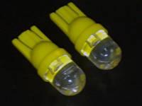 LED лампочка желтого свечения T10 АВТО х 2шт