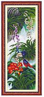 """Набор для вышивания   """"Орхидея с птицей"""""""