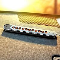 Автовизитка на Торпедо (наборная) BASEUS Sliding Cover Temporary Parking Number Dark-gray