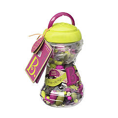 Набор для изготовления украшений Поп-Арт 300 S2 деталей Battat Pop Arty Snap Bead Jewelry Set for Kids BX1468Z