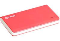 Портативный внешний аккумулятор Nomi P080 8 000 mAh Pink