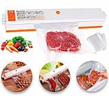 Вакуумный упаковщик FreshpackPRO. Вакууматор + вакуумные пакеты, фото 9