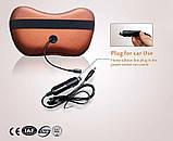 Massage pillow for home and car универсальная роликовая массажная подушка 4 ролика, фото 8