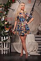 Платье мод 369-1 (А.Н.Г.)размер 46