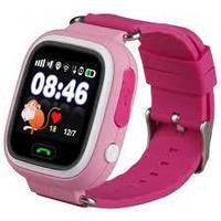 Детские смарт часы Q90 Gsm, sim, Sos,Tracker Finder Smart Watch Розовые! Скидка