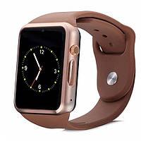 Умные часы Smart Watch A1 Золото! Скидка