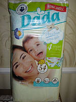 Подгузники Dada Premium 4 maxi ( 7 - 18 кг) 54 шт.
