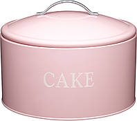 Емкость для торта KitchenCraft SDI Jumbo Розовый (419088)