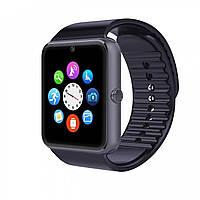Умные часы Smart Watch Phone GT08 Черный! Скидка