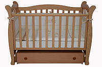 Детская кроватка Соня ЛД 15 маятник (бук)