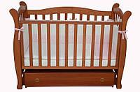 Детская кроватка Соня ЛД 15 маятник (ольха)