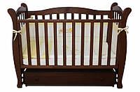 Детская кроватка Соня ЛД 15 маятник (орех)