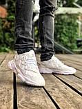 Мужские кроссовки в стиле Adidas Ozweego (White), Адидас Озвиго (Реплика ААА), фото 3